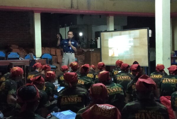 Narasumber Diklatsar Barisan Ansor Serbaguna PAC. GP ANSOR Karangpucung