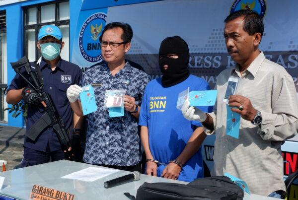 Press Release Ungkap Kasus Tindak Pidana Narkotika