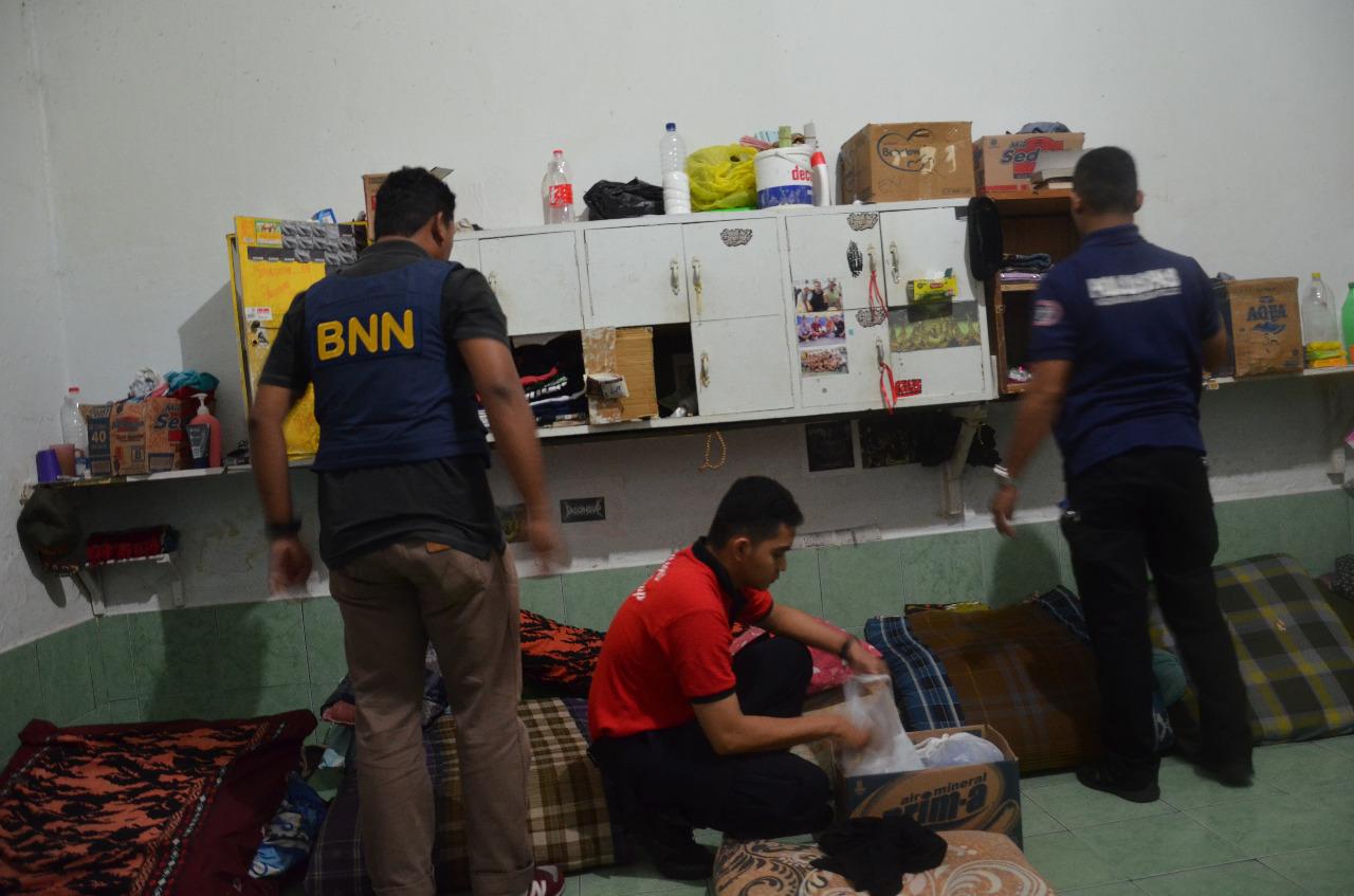 BNN Kabupaten Cilacap Laksanakan Razia Gabungan di Lapas Kelas II B Cilacap
