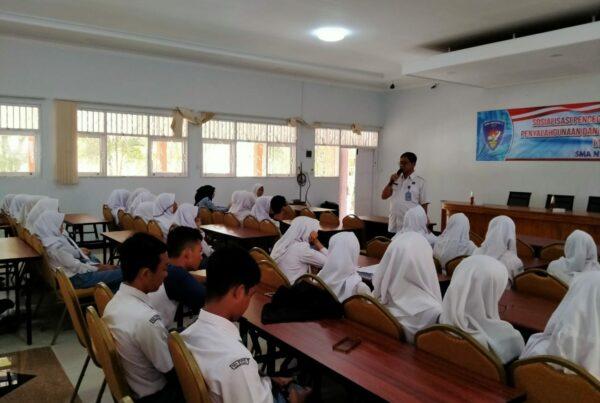 SMA Negeri 3 Cilacap Gandeng BNN untuk Sosialiasi Bahaya Penyalahgunaan Narkoba