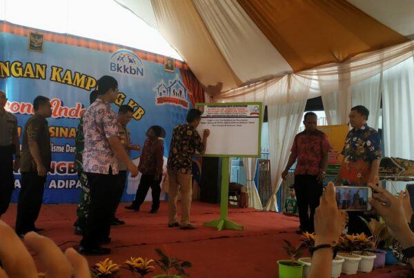 Launching Desa Bersinar Terang dan Pencanangan Kampung KB di Desa Karangbenda