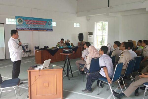 Kepala BNNK Cilacap lakukan sosialisasi P4GN di Stasiun Karantina Pertanian Kelas I Cilacap