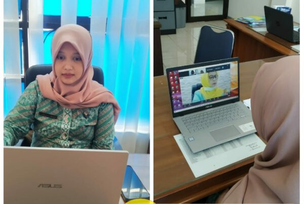 Video Conference Sosialisasi Perubahan Rekening Giro Bendahara Pengeluaran ke Rekening Virtual