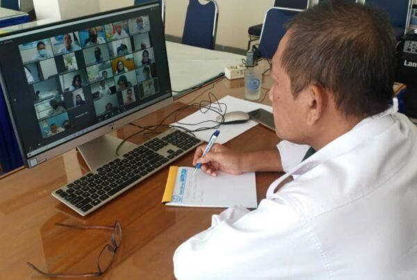 Kasi P2M ikuti Virtual Meeting terkait penyusunan Indeks Ketahanan Keluarga
