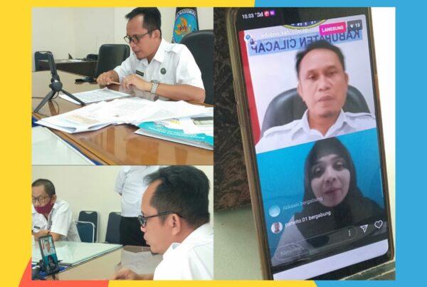 Kepala BNNK Cilacap live instagram membahas tentang Ganja