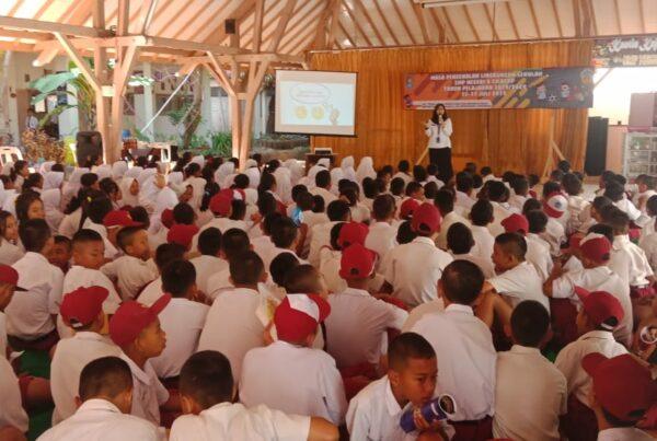 Sosialisasi P4GN di SMP N 8 Cilacap