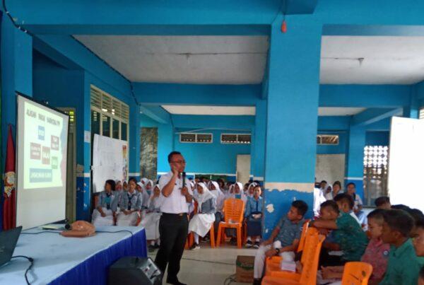 Sosialisasi P4GN dalam Rangka Masa Pengenalan Lingkungan Sekolah (MPLS) SMK Yos Sudarso Kawunganten