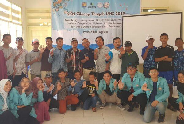 Sosialisasi P4GN dalam Rangka KKN Mahasiswa UNS di Kelurahan Donan Cilacap