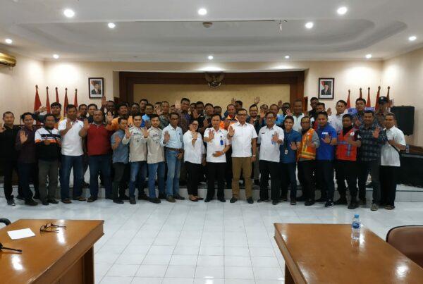 Kegiatan Tes Urin Bagi Pekerja PT. PELINDO III Pelabuhan Tanjung Intan Cilacap