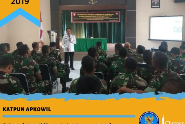Katpun Apkowil (Peningkatan Kemampuan Aparat Komando Wilayah) Tersebar Kodim 0703 Cilacap 2019