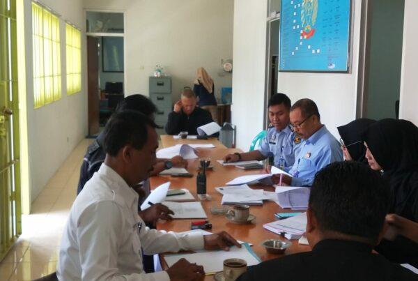 Sidang Tim Pengamat Pemasyarakatan Lapas Batu Nusakambangan kabupaten Cilacap