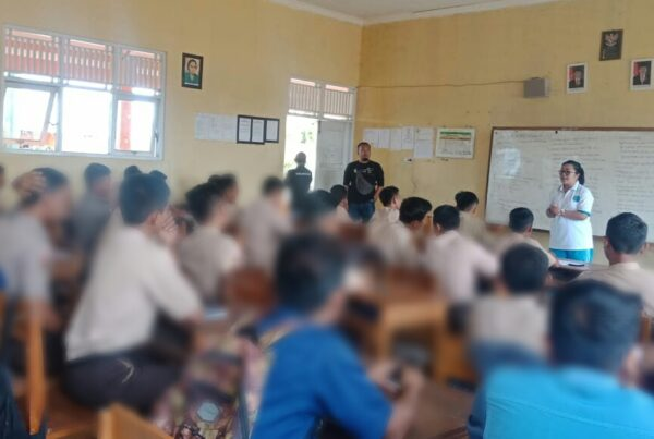 BNN Goes To School di SMK Y Sidareja Cilacap