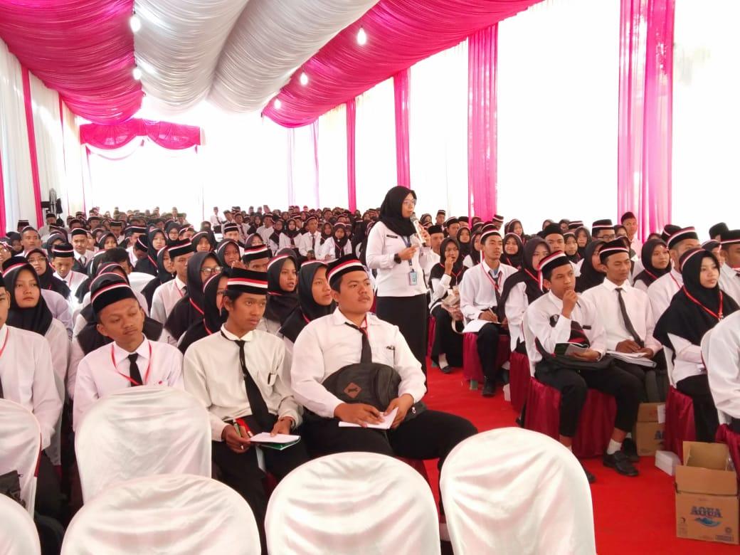 Sosialisasi P4GN pada Kegiatan Pengenalan Kebudayaan Kampus Bagi Mahasiswa Baru IAIIG - UNUGHA Cilacap