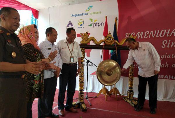 BNN Kabupaten Cilacap Ikuti Pemenuhan Kebutuhan Dasar Masyarakat Sinergitas BUMN Hadir Untuk Negeri (BHUN) dan Pengukuhan Desa Bersih Narkoba (Desa BERSINAR)