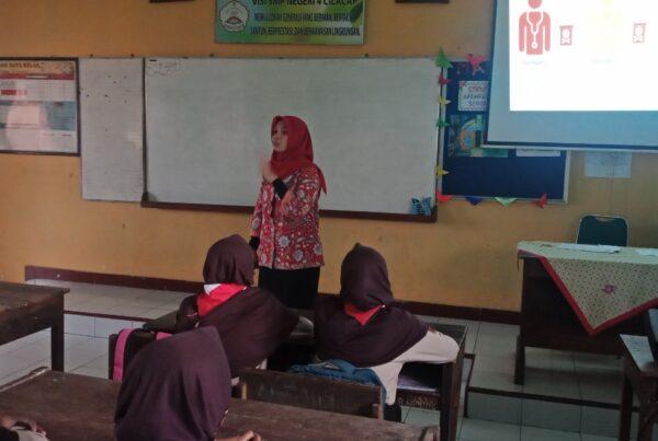Kenalkan Bahaya Narkoba, BNN Kabupaten Cilacap datangi SMP Negeri 4 Cilacap