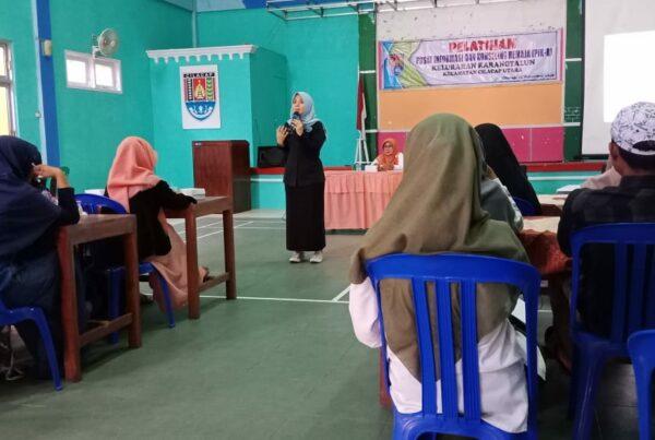 Pelatihan PIK-R di Karangtalun, gandeng BNNK Cilacap