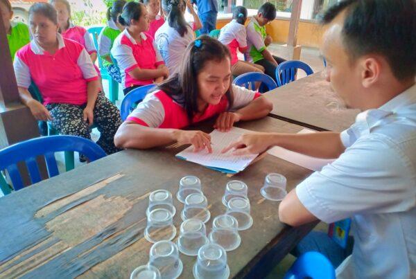 BNN Kabupaten Cilacap Tes Urine Calon TKW