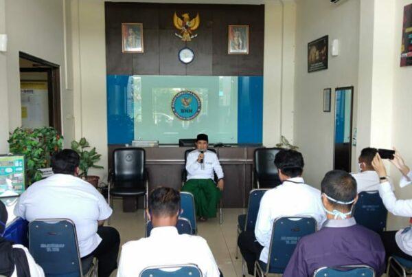 Halal Bihalal Pegawai BNN Kabupaten Cilacap dengan Tetap Mengutamakan Protokol Kesehatan