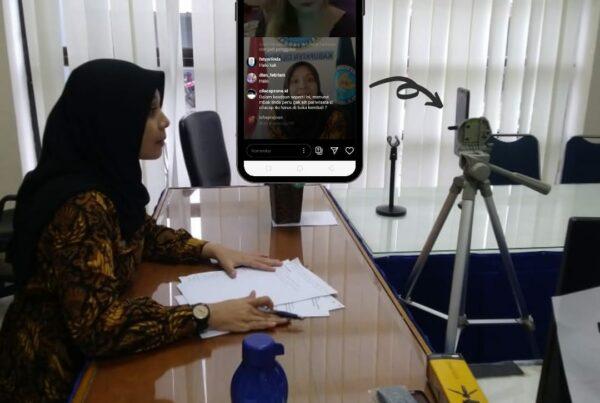 BNNK Cilacap gandeng Mbak Duta Wisata Cilacap 2019 pada Live Instagram kali ini