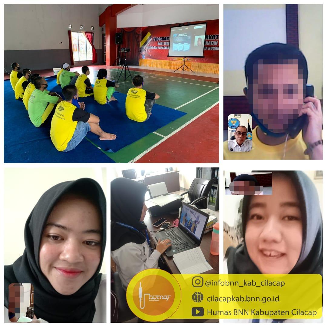 Senin, Tim Rehabilitasi BNNK Cilacap masih dengan layanan konseling online