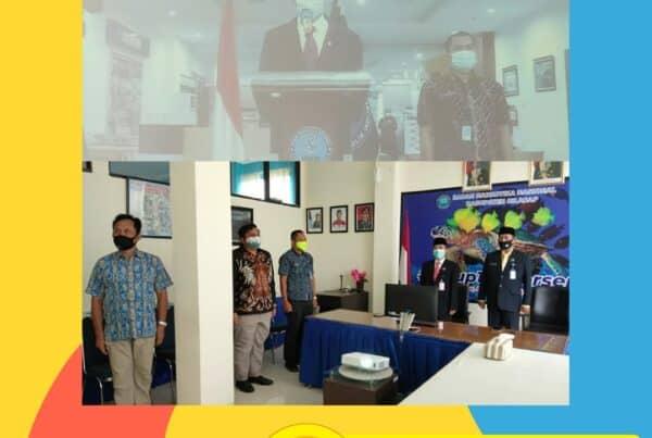 Upacara Pengambilan Sumpah dan Pelantikan Jabatan Pimpinan Tinggi Pratama dan Penyetaraan Jabatan Administrasi kedalam Jabatan Fungsional