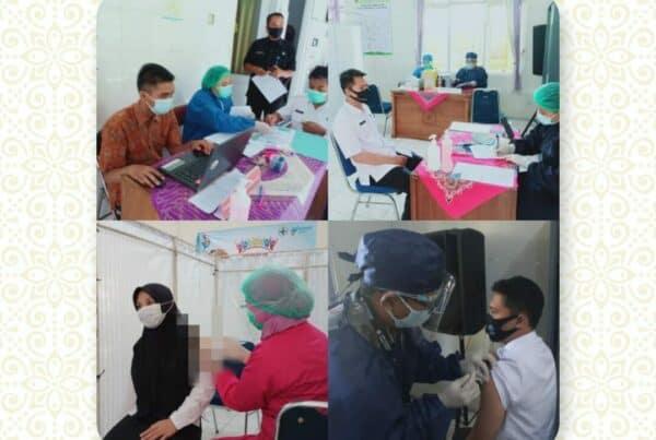 Pegawai BNNK Cilacap Vaksin COVID-19